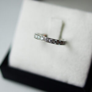 Channel Pave Full Set Diamond Eternity Ring