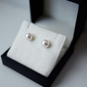 Freshwater Pearl Pinky Cream Studs