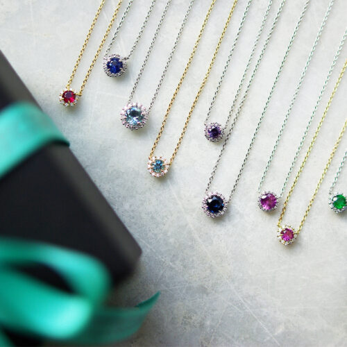 Gemstone Cluster Pendant Collection