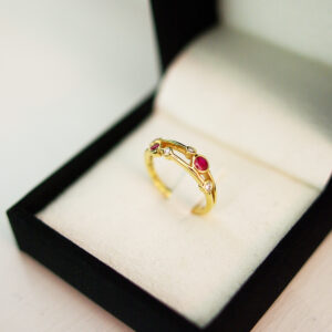 Ruby Ring Bubble Collection